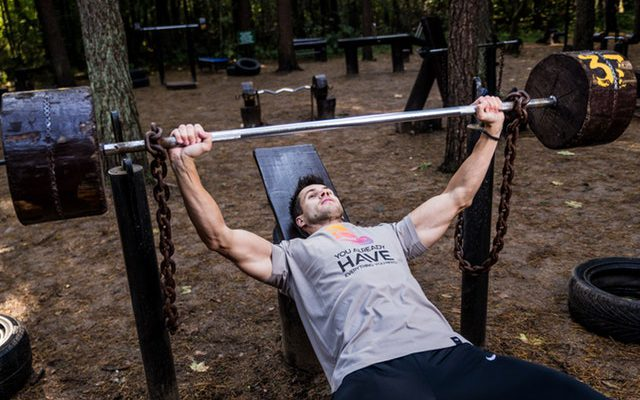 Best chest exercises with weights